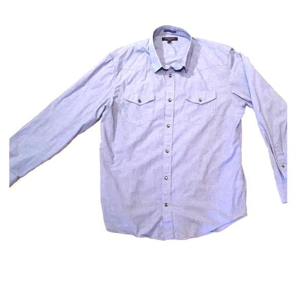 Banana Republic Other - Banana Republic Slim-Fit Snap Button Down Shirt